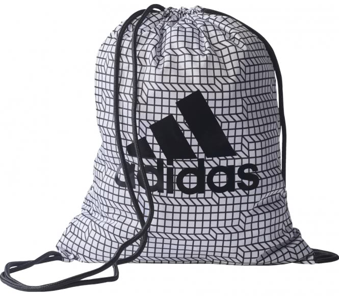 Adidas - Brushed Lines Gym bag (grey/black)