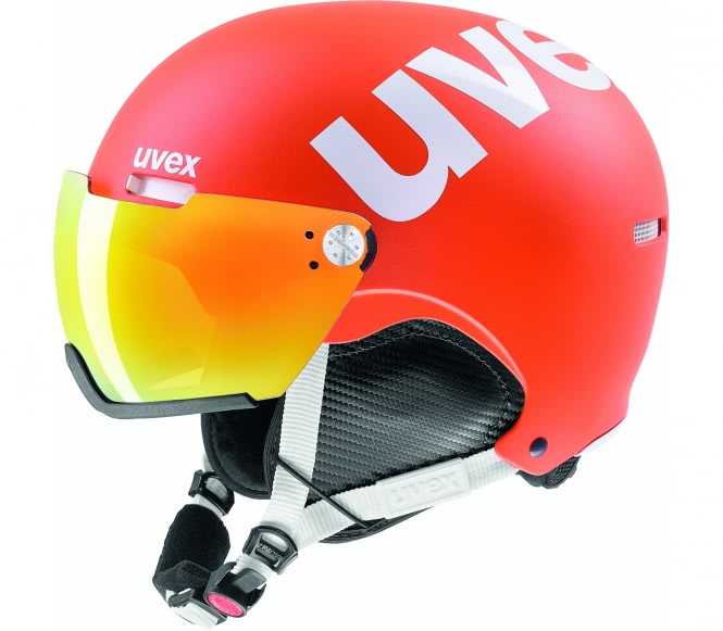 Uvex - Hlmt 500 Visor Skihelm (orange) - S (52?...