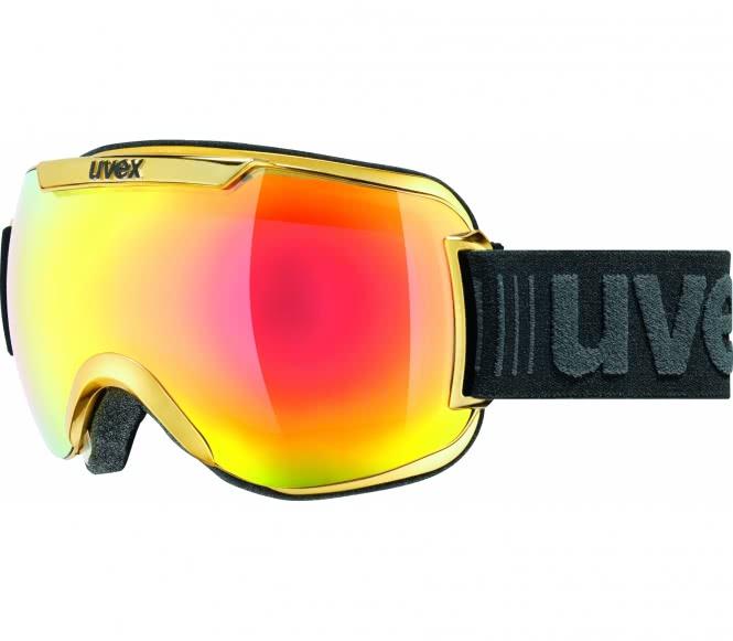 Uvex - Downhill 2000 Skibrille (schwarz/gold)