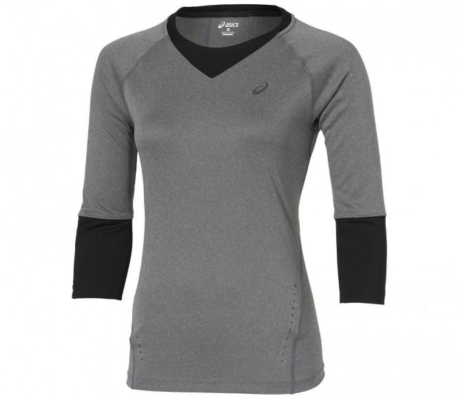 Asics - 3/4 SLV Maglietta da running per donna (grigio) - M
