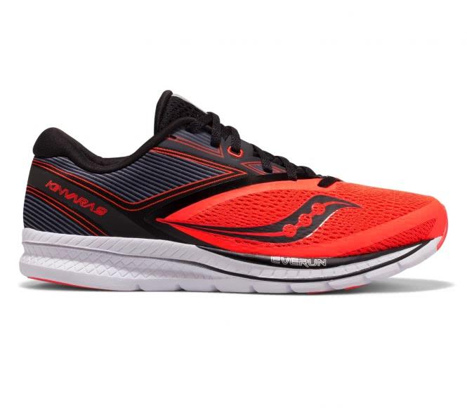 Saucony - Kinvara 9 Mænd løbesko (rød/sort) - EU 42,5 - US 9