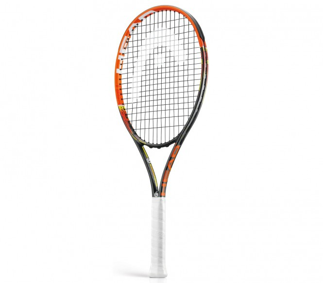 Head YouTek Graphene Radical Jr. (uppträdda) tennisrack L1 (4 1/8)