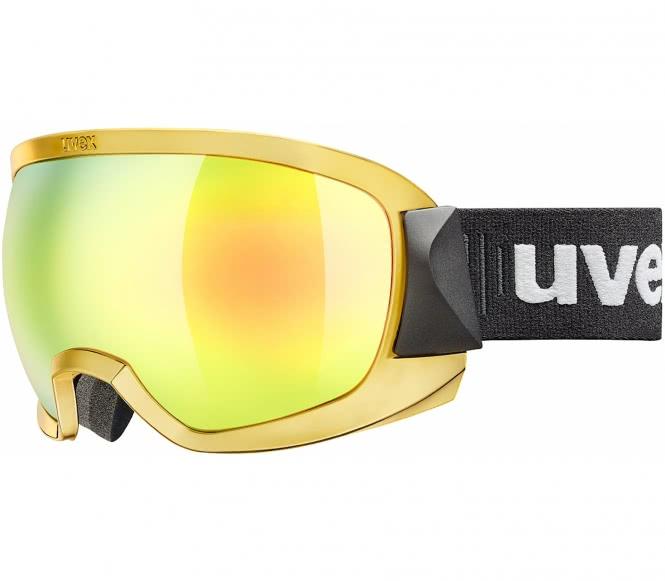 Uvex - Contest Fm Skibrille (schwarz/gold)