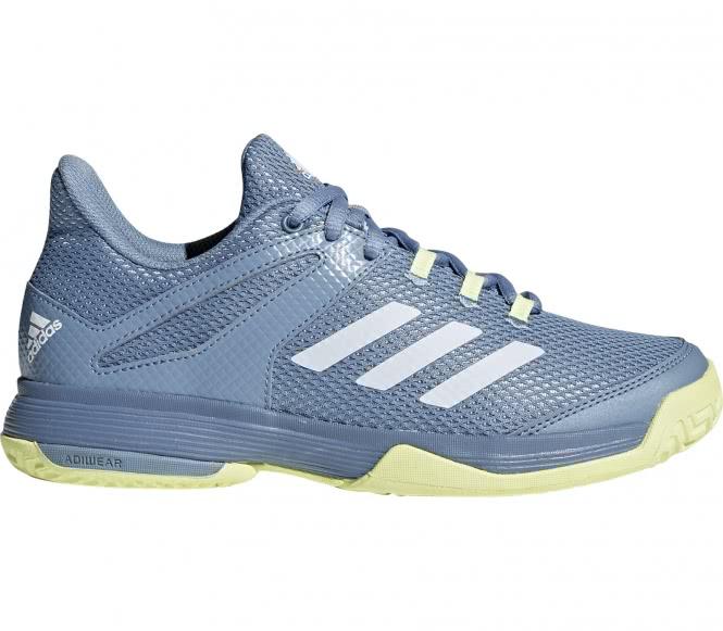 Adidas adizero club enfants chaussure de tennis bleu jaune eu 39 13 uk 6