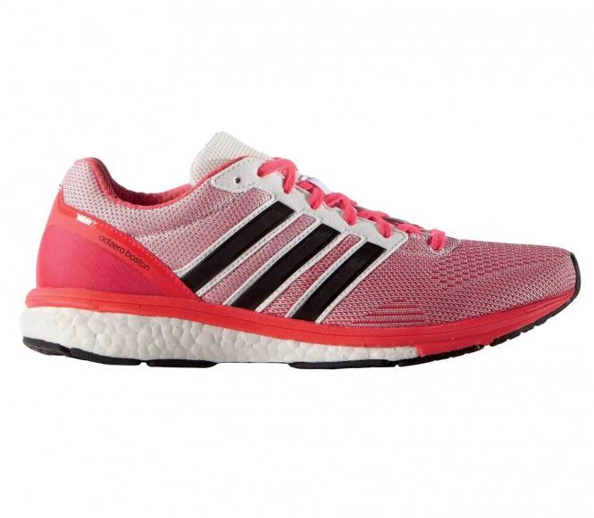 Adizero Boston Boost 5 Damen Laufschuh (rosa/rot) - EU 40 2/3 - UK 7