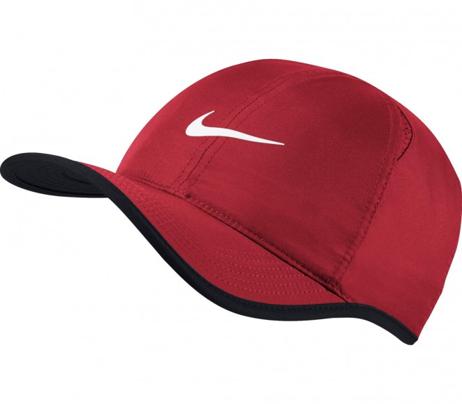 Nike - Featherlight Tenniscap (rot)