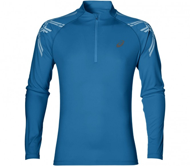 Asics - Stripe 1/2 Zip Heren lopend overhemd