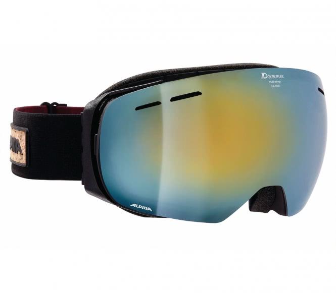 Granby Unisex Skibrille (schwarz)