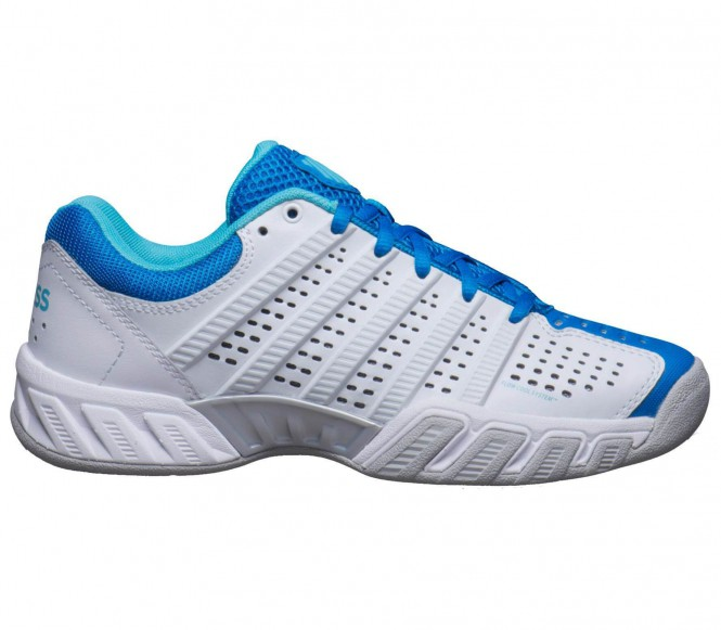 K-Swiss Bigshot Light 2.5 Dam Tenniskor (vit/blå) EU 395 UK 6
