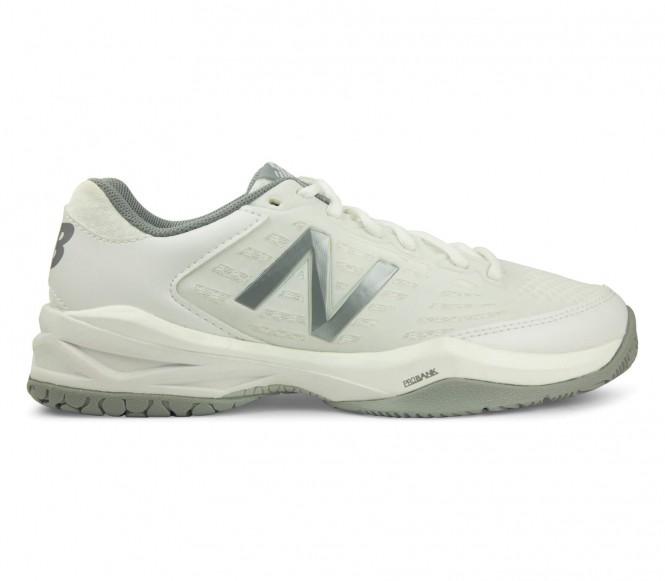 New Balance 896 B Damen Tennisschuh (weiß/grau) - EU 39 - US 8