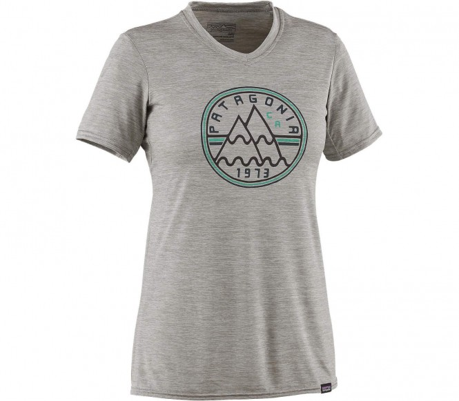 <strong>Patagonia</strong> casquetteilene daily shortsleeve graphic t shirt fonctionnel pour femmes gris s
