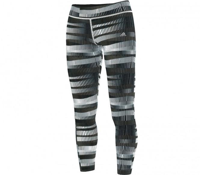 Adidas Workout Alloverprint Tight Dam (vit/svart/grå) L