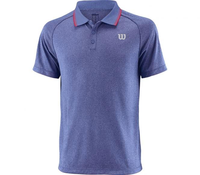 Wilson - Core Herren Tennispolo (blau) - XXL