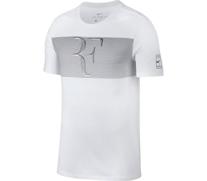 Nike rf hommes tennis chemise blanc l