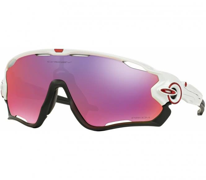 Oakley - Jawbreaker Bike Brille (weiß)