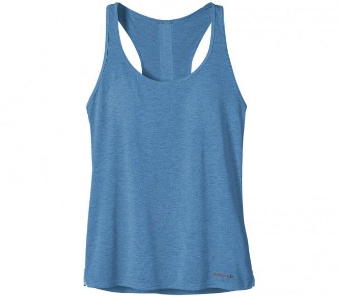 <strong>Patagonia</strong> nine trails t shirt fonctionnel pour femmes bleu xs