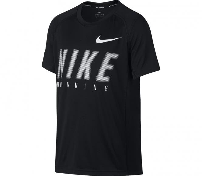 Nike - Dry Shortsleeve Miler GFX Junior Trainin...