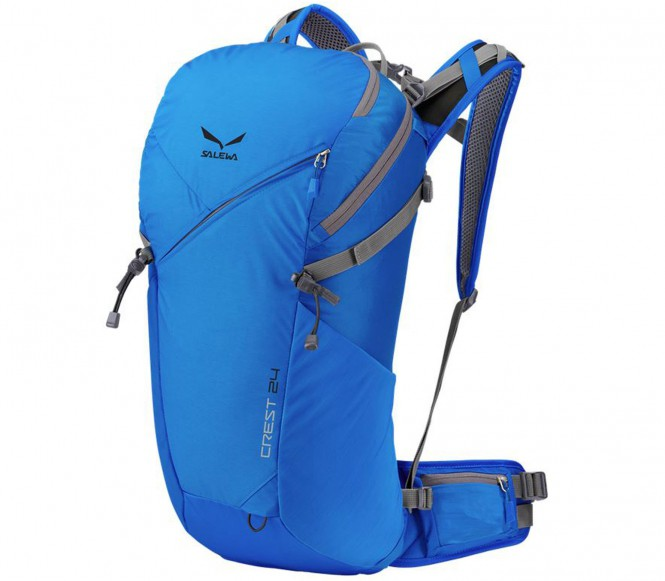 Salewa - Crest 24 Tourenrucksack (blau)