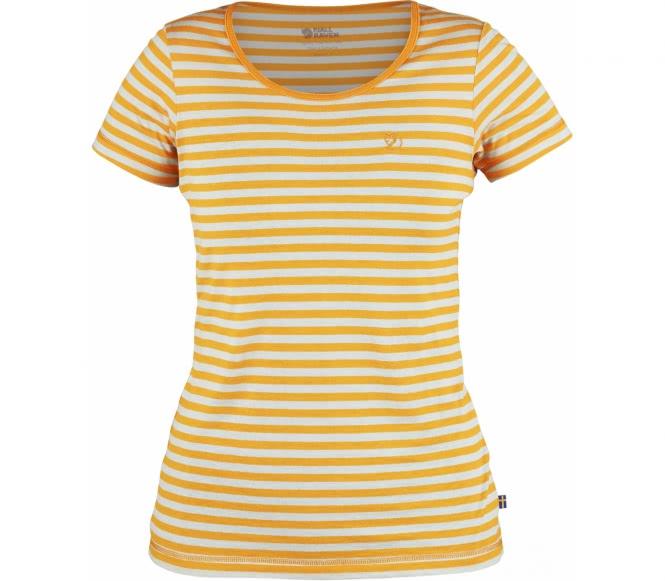 Fjällräven - High Coast Stripe women's outdoor top (orange) - XS