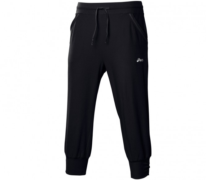 ASICS KNIT CAPRI Trainingsbroek Zwart
