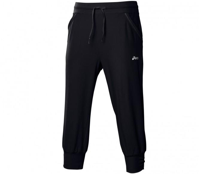 Asics Knit Capri Dam Träningsbyxor (svart) M