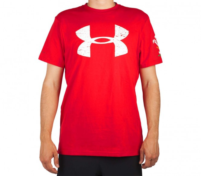 Under Armour - Wales Rugby Graphic Heren Fitness shirt