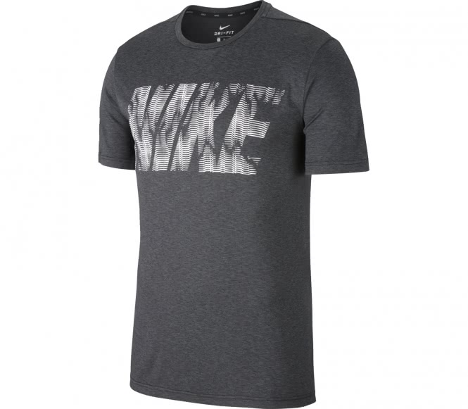 Nike - Dry GFX1 Herren Trainingsshirt (grau) - S