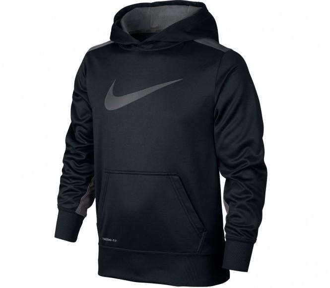 Nike KO 3.0 OTH barn träningshoodie (grå/svart) M