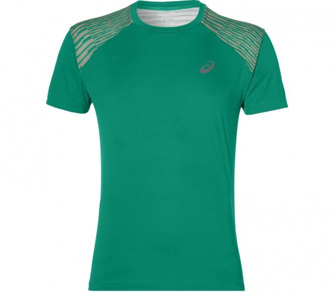 Asics - fuzeX t-shirt de running pour hommes (vert) - L