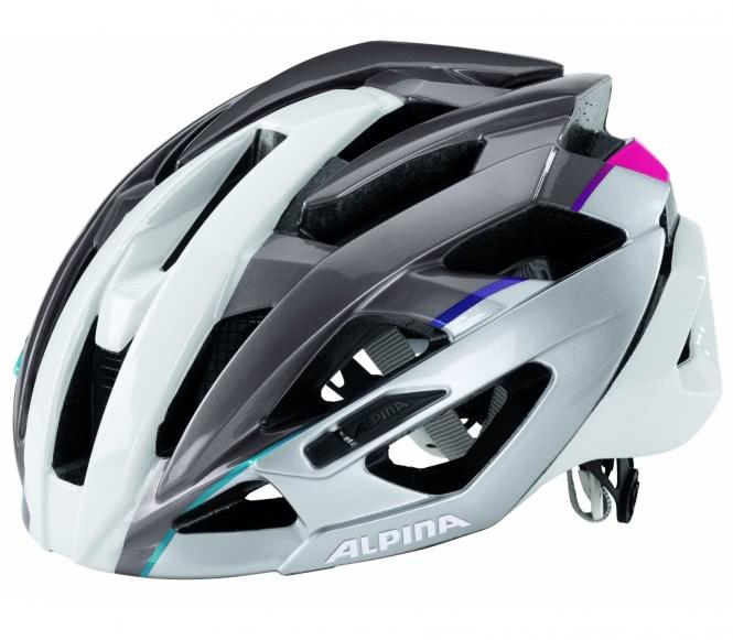 Alpina - Valparola RC Bike Helm (schwarz) - 51 ...