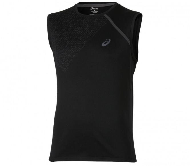 Asics Sleeveless herr träningsshirt (svart) L