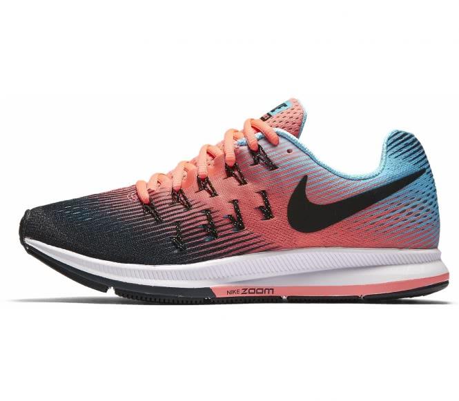 Nike - Air Zoom Pegasus 33 chaussures de running pour femmes (orange/turquoise) - EU 40,5 - US 9