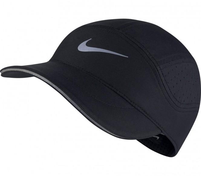 Nike - AeroBill Unisex Laufcap (schwarz)