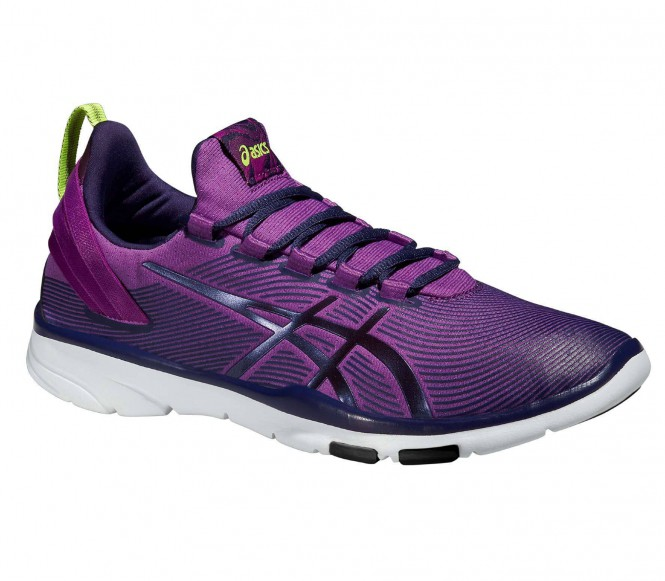 ASICS GELFIT SANA 2 Sportschoenen grape/dark berry/flash yellow