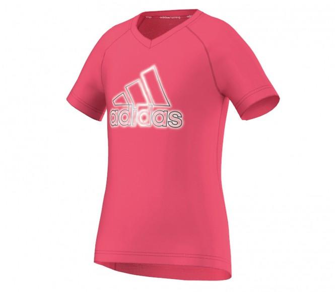 Adidas Junior running shirt (rosa) 128