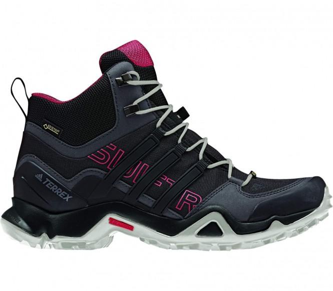 Adidas Terrex Swift R Mid GTX Dames wandelschoen (zwart-grijs) EU 41 1-3 UK 7,5