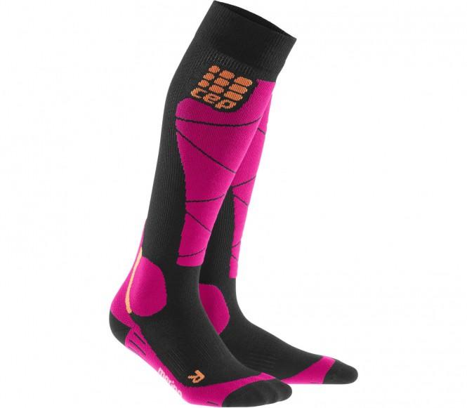 CEP - Merino Damen Skisocken (schwarz/pink) - IV