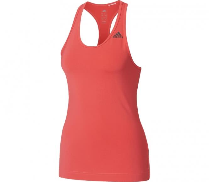 Adidas - D2M Solid Damen Trainingstank (pink) - M