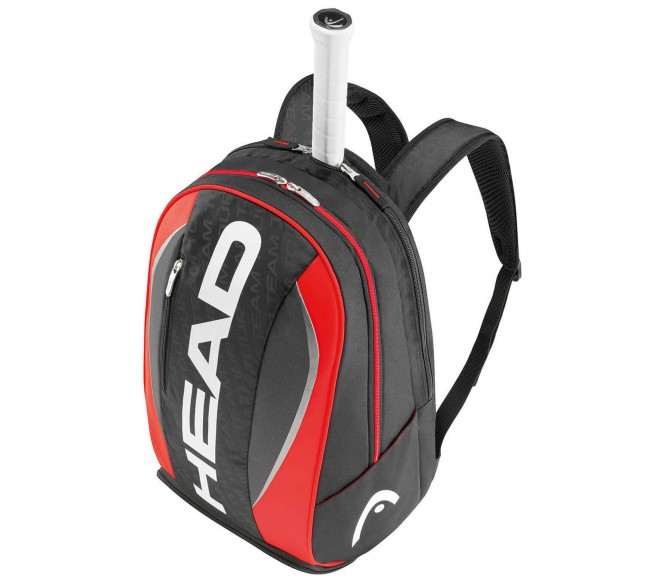 Tour Team Backpack (schwarz/rot)