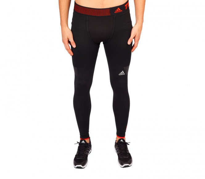 Adidas Techfit Climaheat Long Tight Herren Trainingshose XL oranje