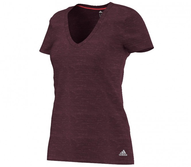 Adidas Vintage Damen Trainingsshirt S bruin