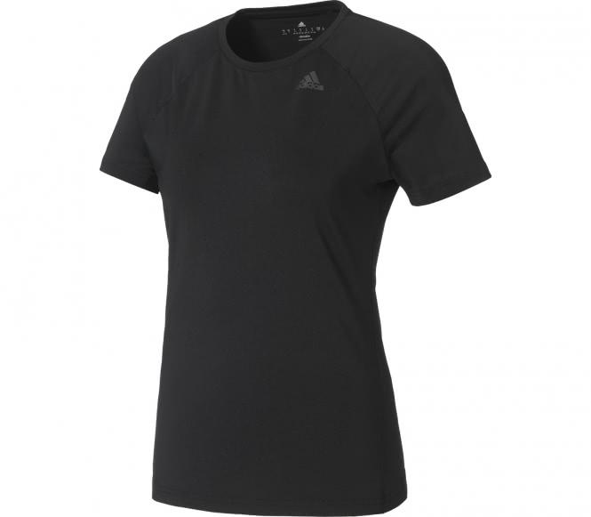 Adidas - D2M Solid Damen Trainingsshirt (schwarz) - M