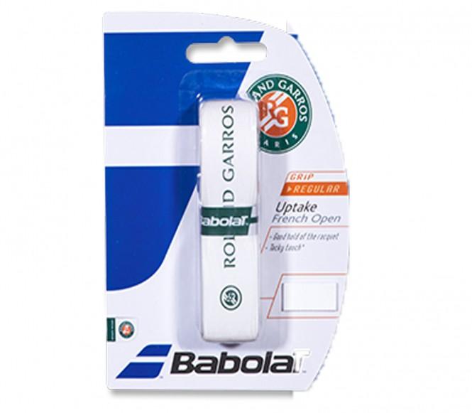 Balles de tennis accessoires - BABOLAT GRIP UPTAKE ROLAND GARROS  BLANC VERT