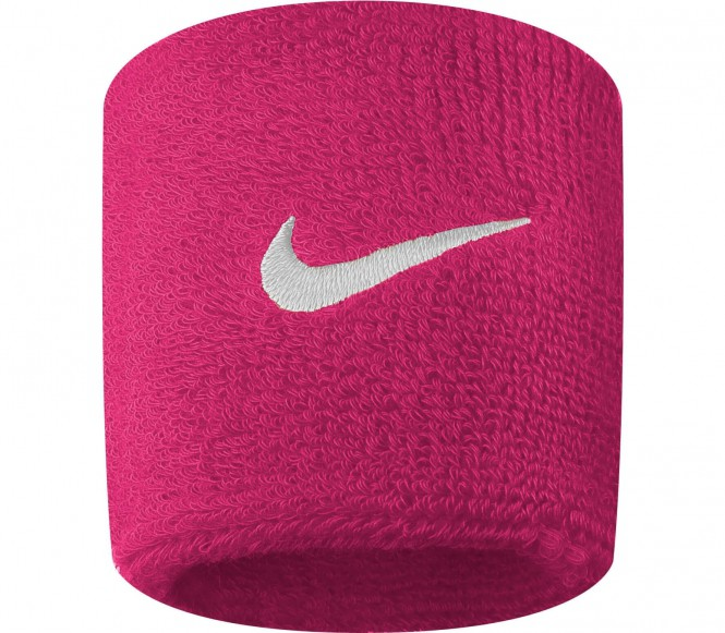 Nike - Swoosh Wristbands (pink/weiß)