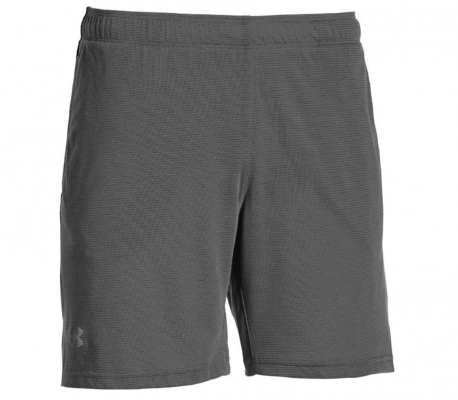 Under Armour STREAKER Korte broeken graphite/black/reflective