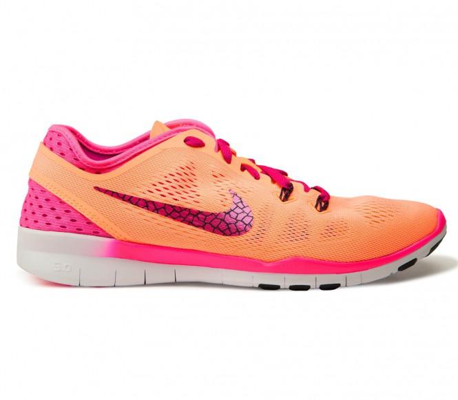 Nike Performance FREE 5.0 TR FIT 5 BREATHE Sportschoenen sunset glow/fireberry/pink pow/black
