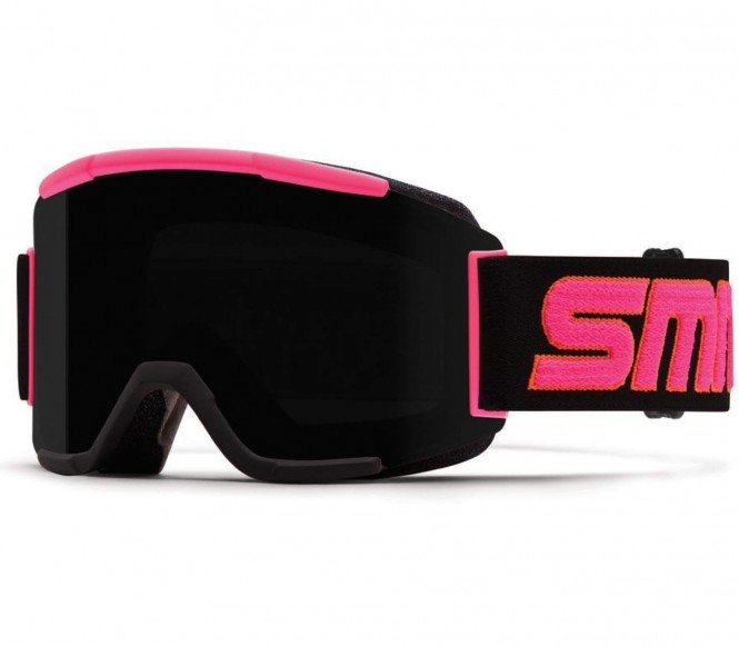 Smith - Squad Skibrille (schwarz/pink)