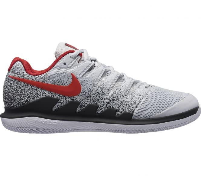 Nike - Air Zoom Vapor X Hommes Chaussure de tennis (blanc/rouge) - EU 36 - US 4
