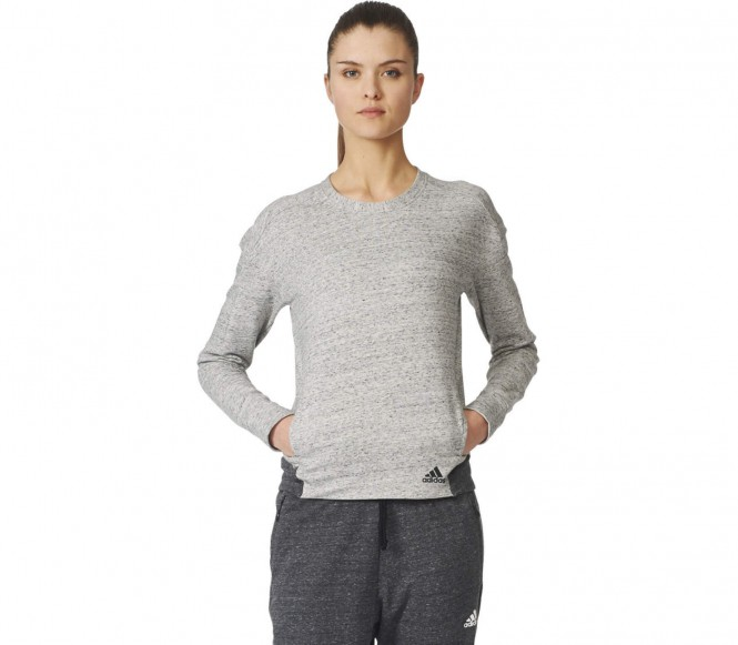 Adidas Cotton Fleece Crew Damen Sweatshirt