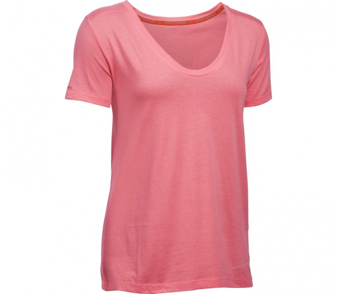 Under Armour - Cotton Cuffed Microthread Shortsleeve Voop Dames training overhemd